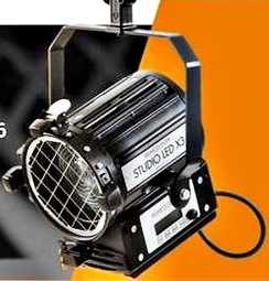 FRESNEL LED 40w-90w-120w-180w-300w-500w QUARTZ COLOR